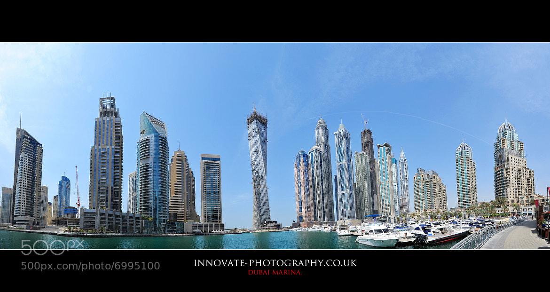 Photograph DUBAI MARINA PANORAMIC. by Paul Wright on 500px