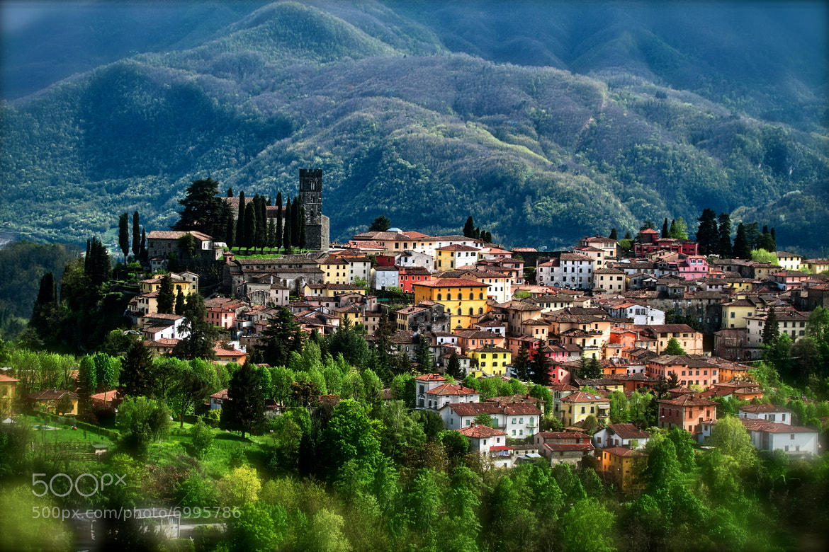 The Town Of Barga Lucca Italy By Claudio Stefanini 500px