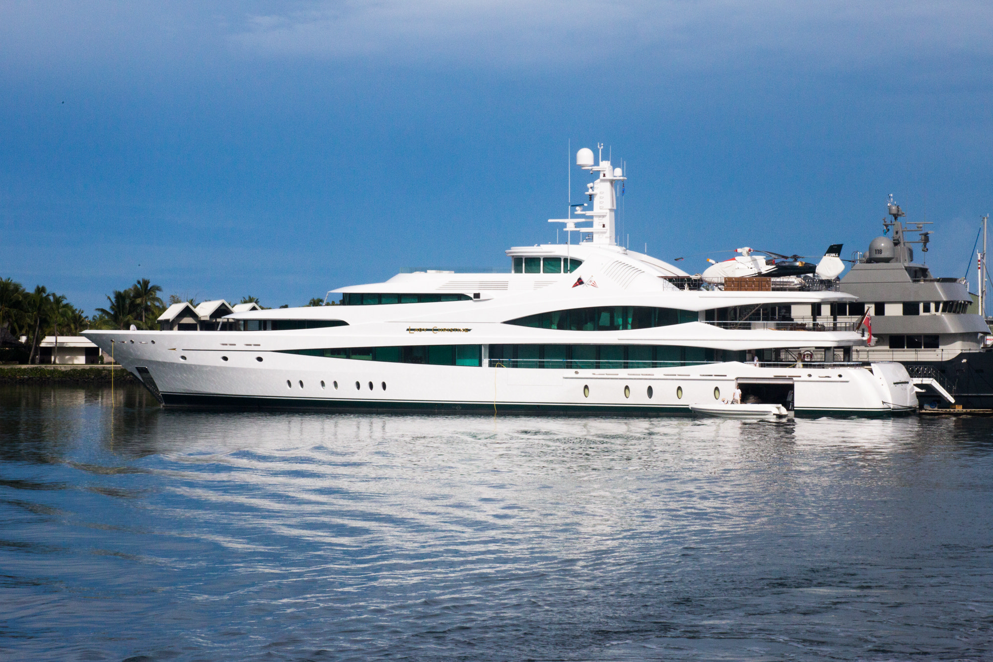Photograph Super Yacht Lady Christine by Mr Biskit on 500px