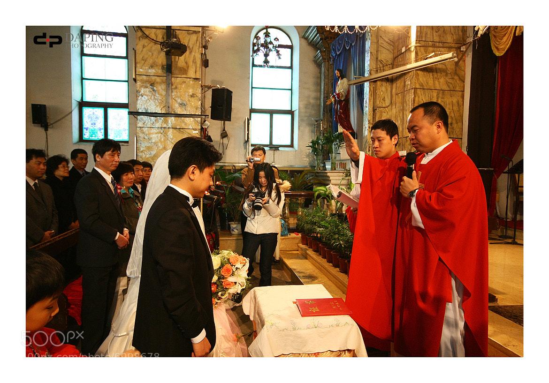 Photograph Church wedding by ping xu on 500px