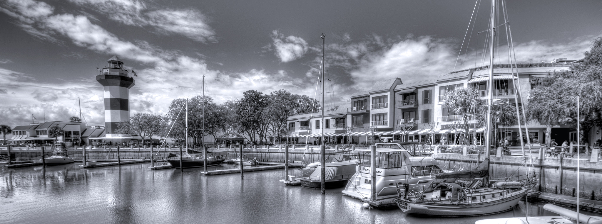 Photograph Harbour Town Pano by Brett Lance on 500px