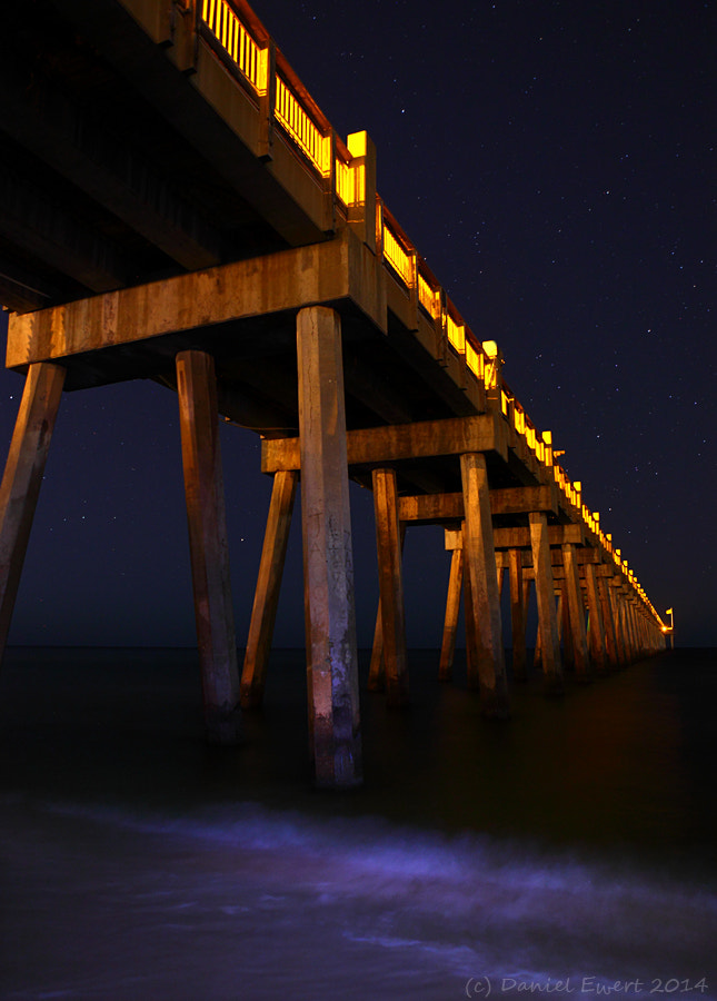 Photograph Pier Under the Stars by Daniel Ewert on 500px