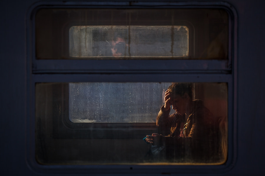 In the train by Alice Reyhtman on 500px.com