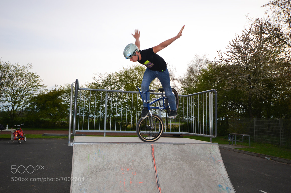 Photograph Tobias No Handed Front Jam by Daniel da Silva on 500px