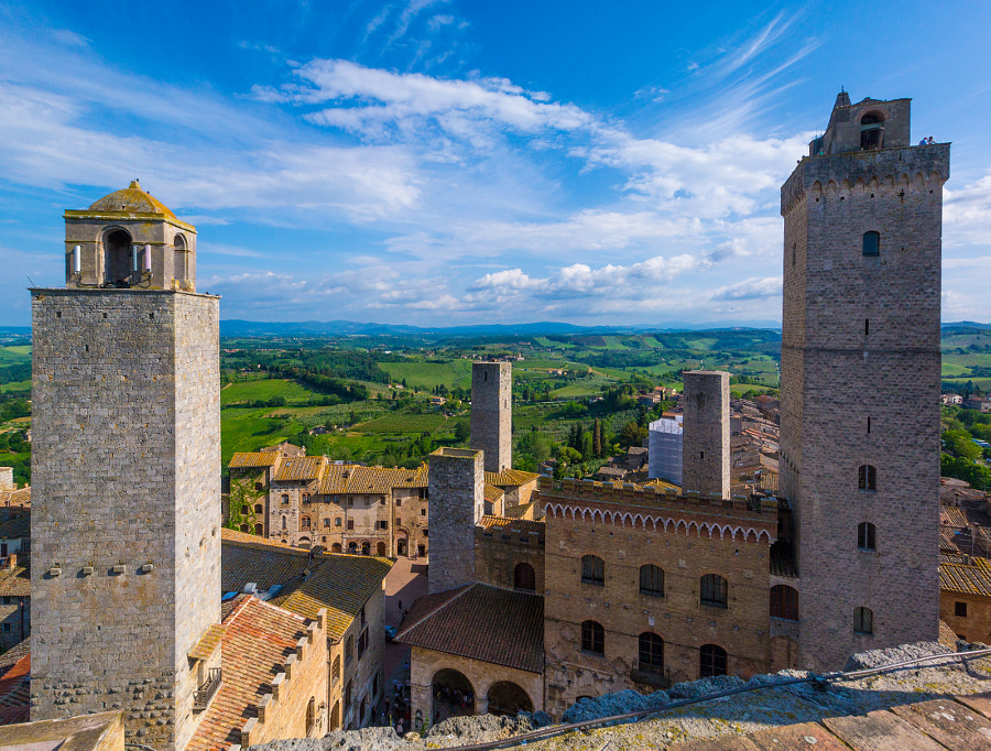 Photograph San Gimignano from Above by Noam Gordon on 500px