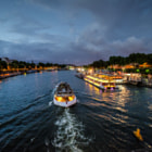 Photograph Boat on the Seine by Robert Dawson on 500px