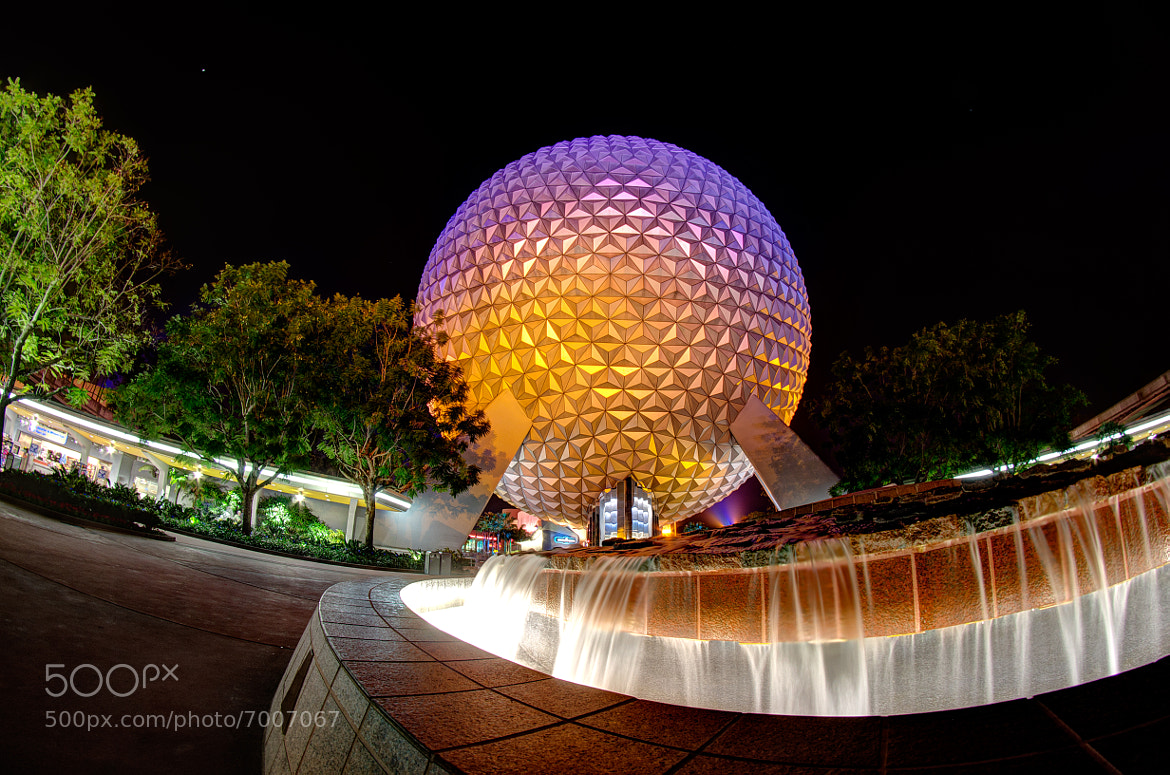 Photograph Spaceship Earth in the Black by Matthew Cooper on 500px
