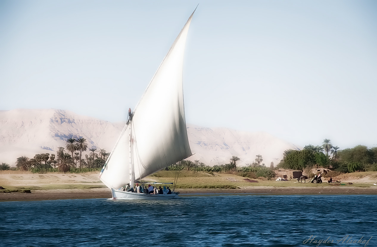 Photograph Jurney on the Great Nile by Hayder Alsahaf on 500px