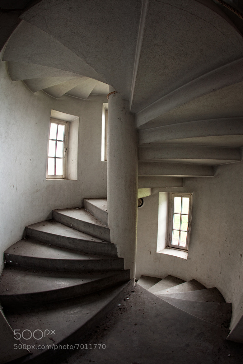 Photograph spiral stair by Andreas S on 500px