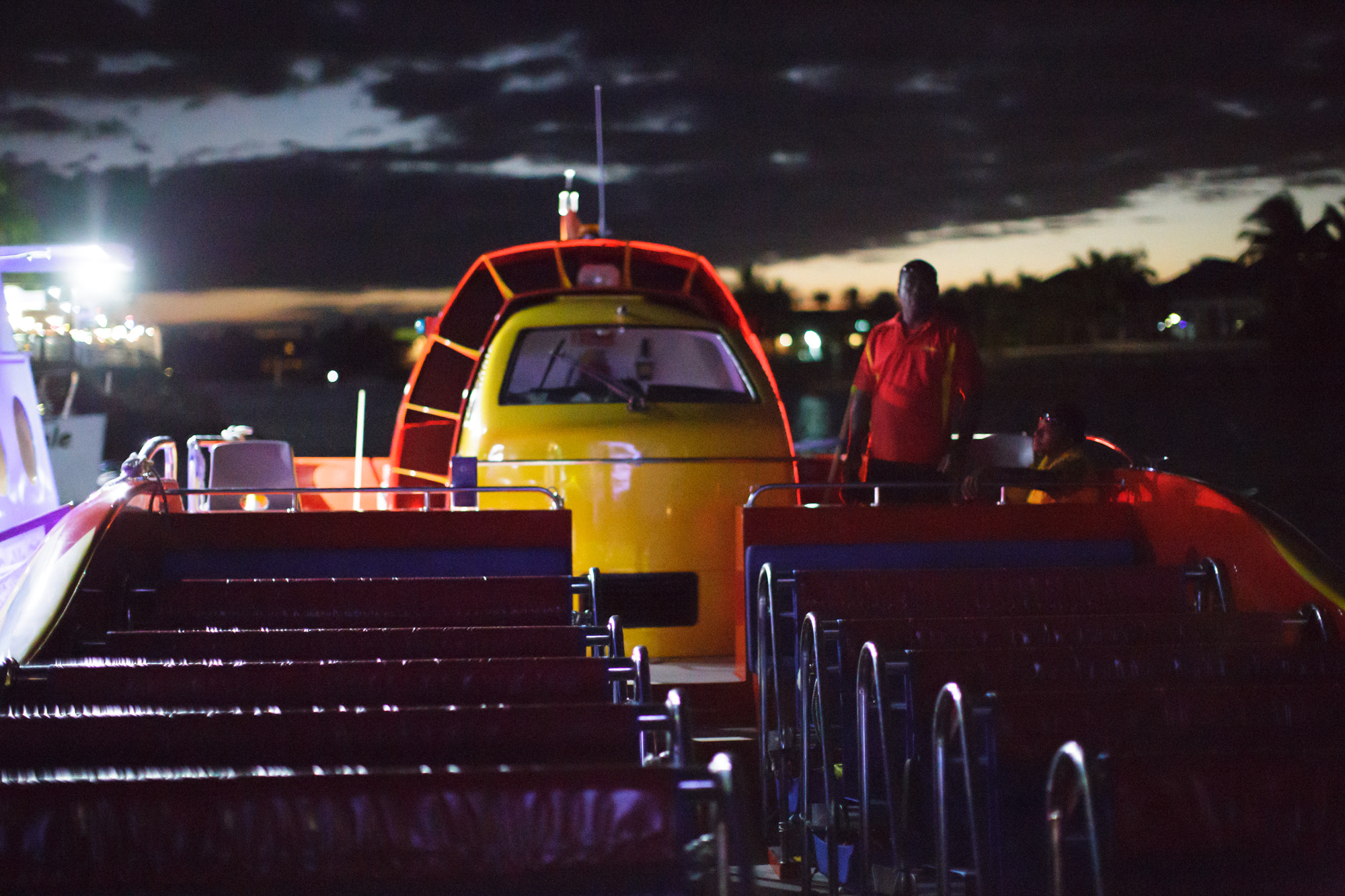 Photograph High speed tour boat Exitor Fiji by Mr Biskit on 500px
