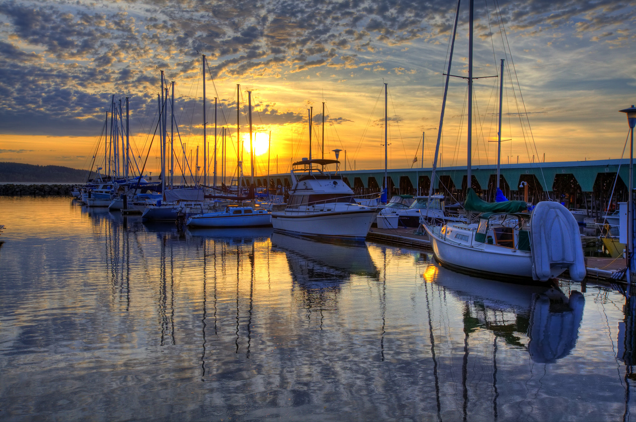 Photograph Sunset at the Marina by Layne Freedle on 500px