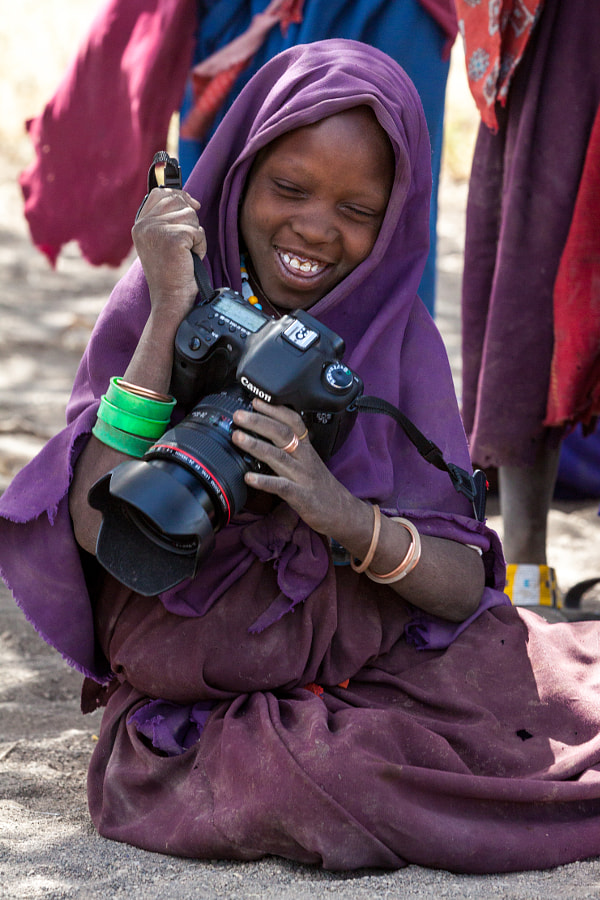Photograph Young Maasai Photographer by Ittai Doron on 500px