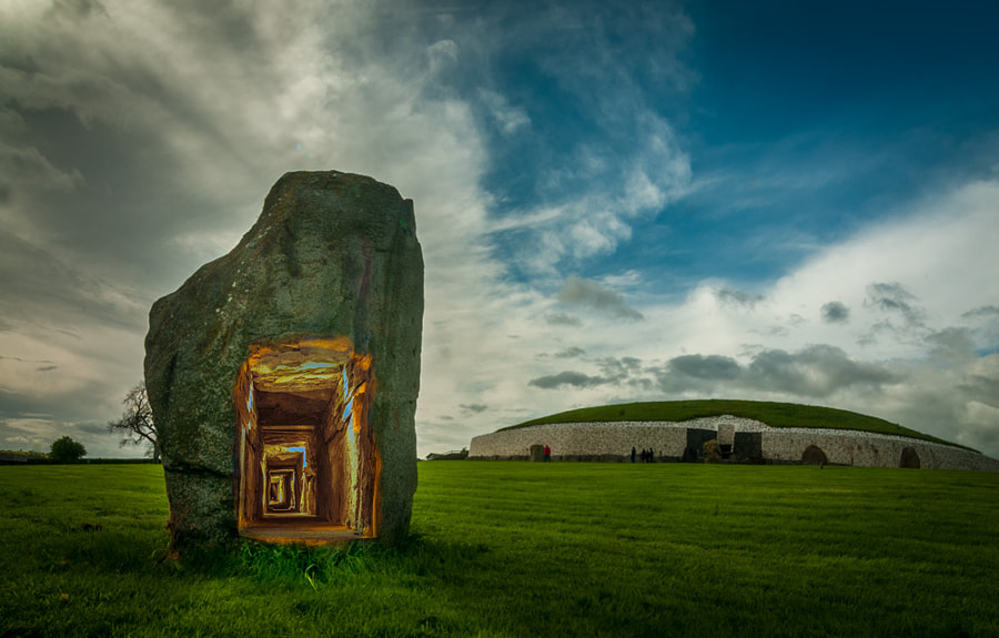Newgrange portal - the faerie door by Joe Houghton on 500px.com