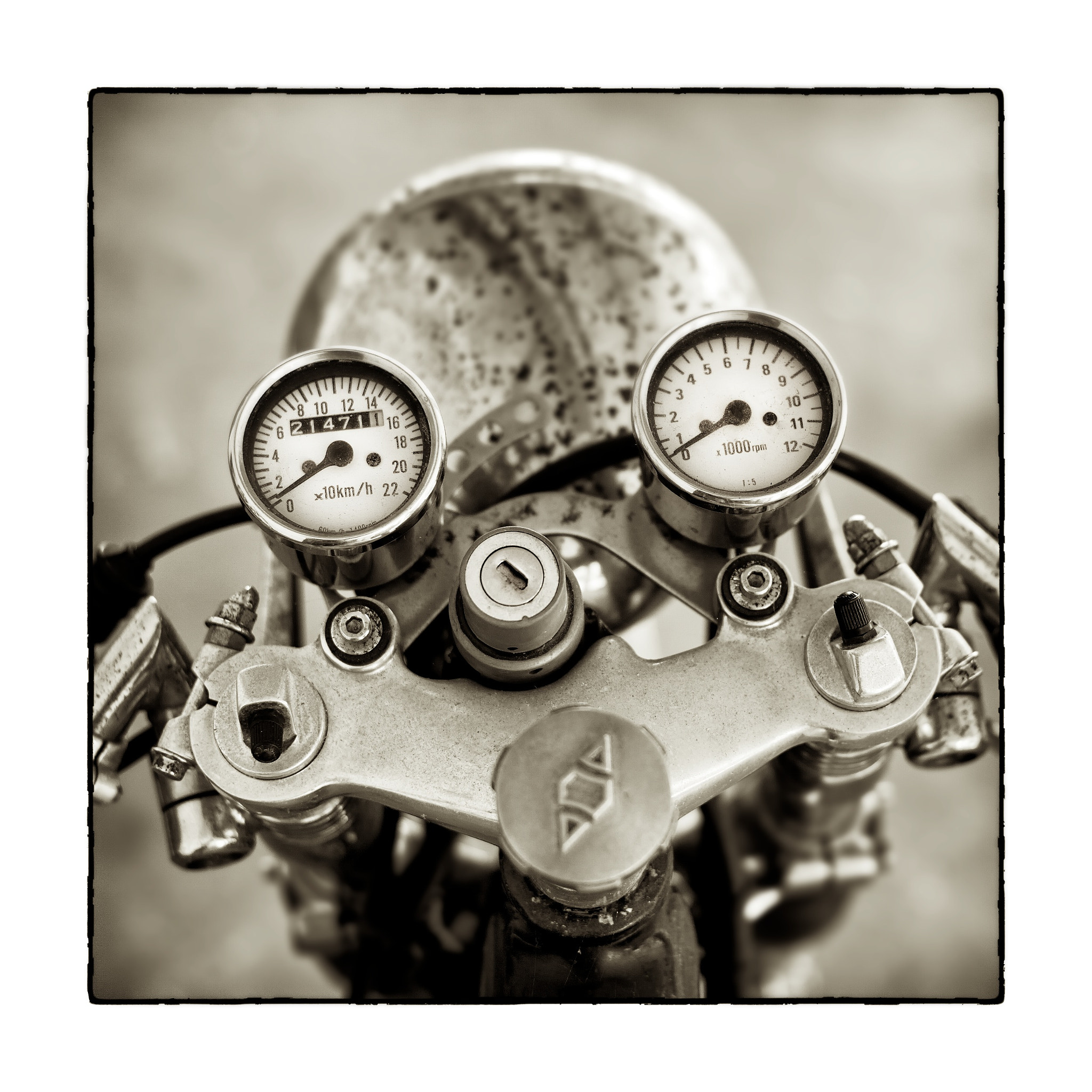 Photograph Triumph Bonnie by Alan Browning on 500px