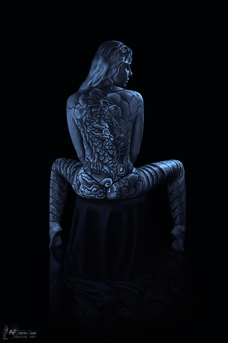 Photograph THE ART OF BODY PAINTING by Eugene Caasi on 500px