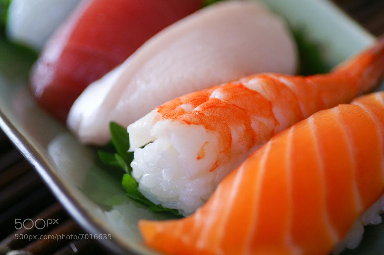 Photograph Sushi by Barron Fujimoto on 500px