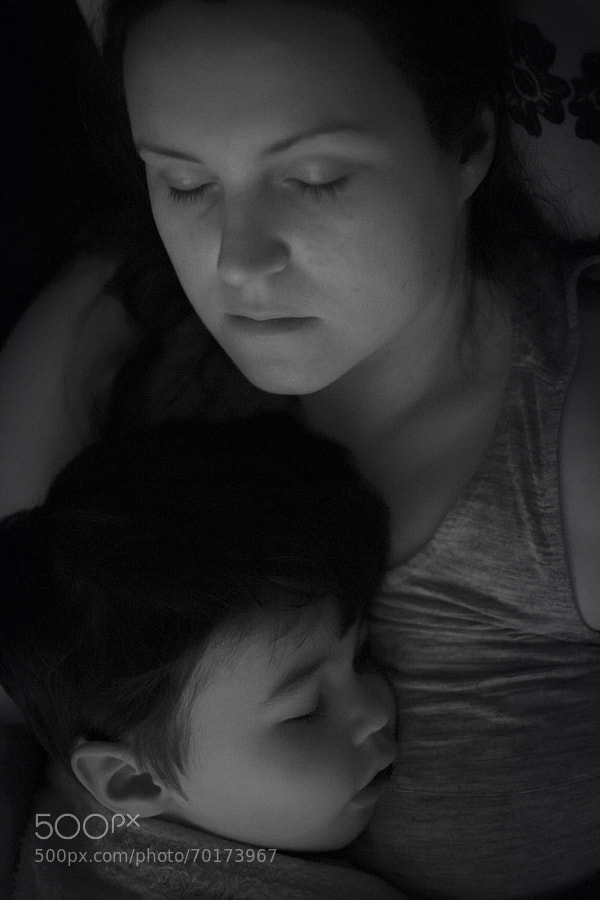 Photograph Sleeping Mother and Son by Colin Miller on 500px