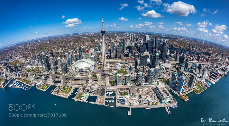 Photograph Fisheye Toronto by Don Komarechka on 500px