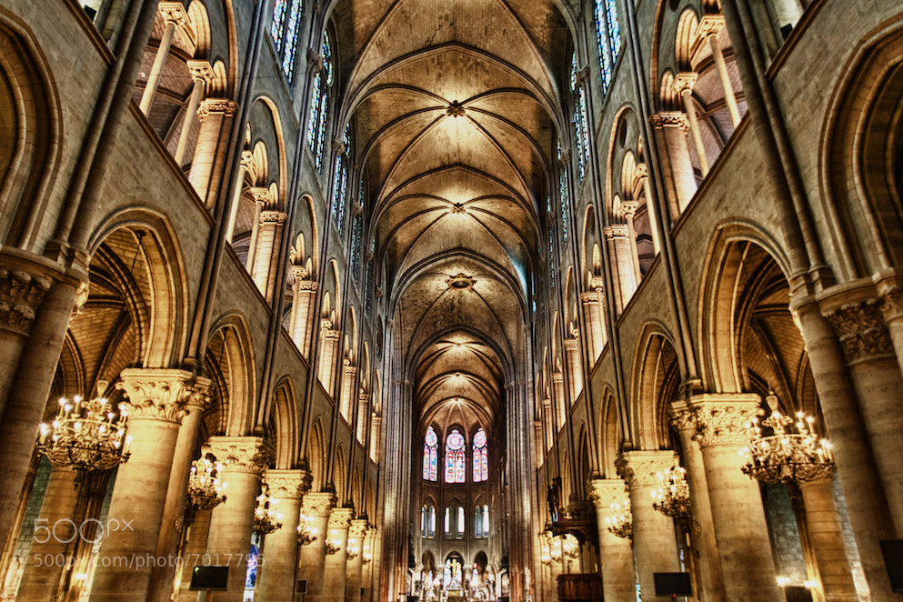 Photograph Notre Dame by Ben Hudson on 500px