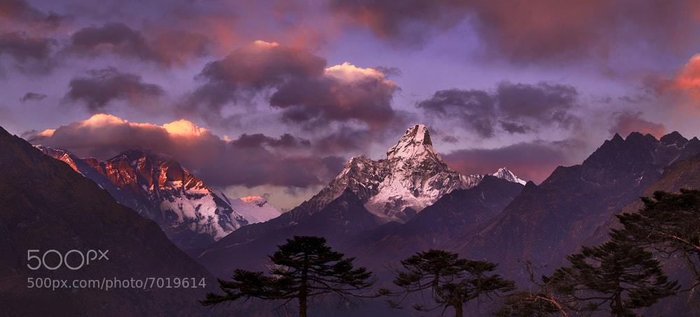 Photograph Everest Range by Koveh Tavakkol on 500px