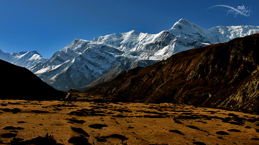 Photograph Into the mountains by Mohan Duwal on 500px
