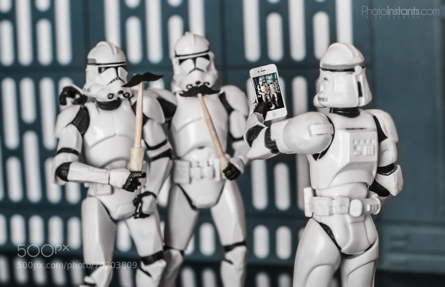 Stormtroopers -Photograph Say Moustache! by Julia Vazquez on 500px