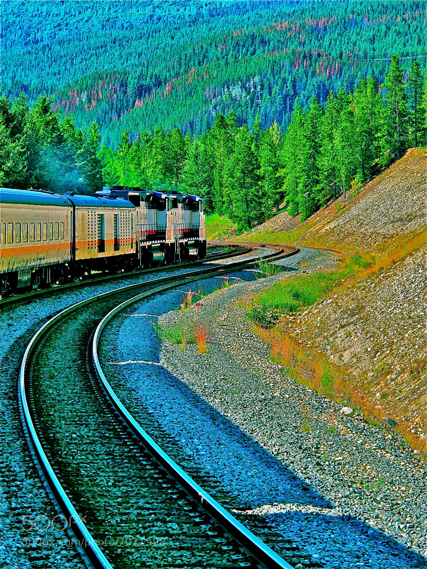 Photograph My First Train Out To The Rocky's May 1st by Kenneth r Rowley on 500px