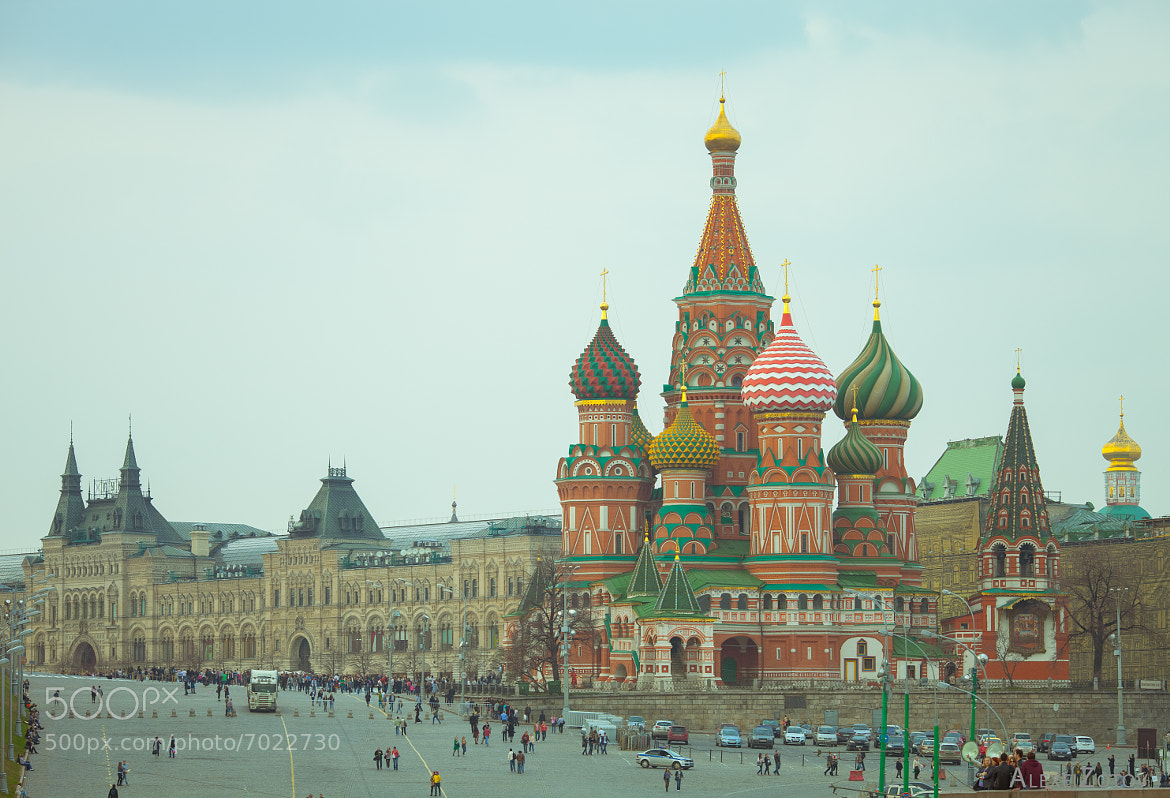 Photograph St. Basil's Cathedral by Alexei Zotov on 500px