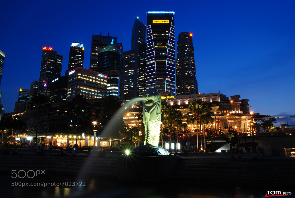 Photograph Singapore by night  by Le Quoc on 500px