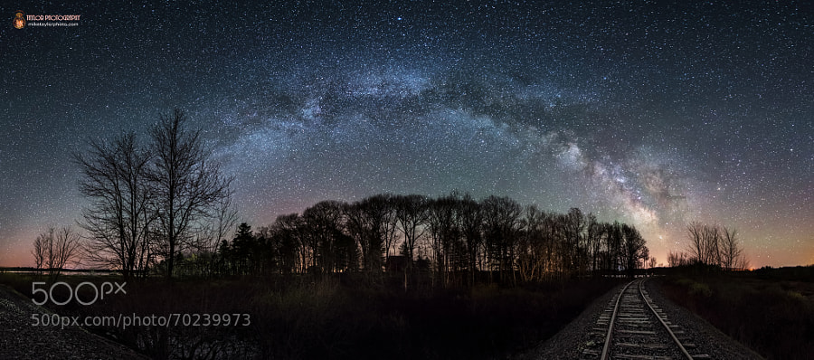 Photograph Galactic Tracks by Mike Taylor on 500px