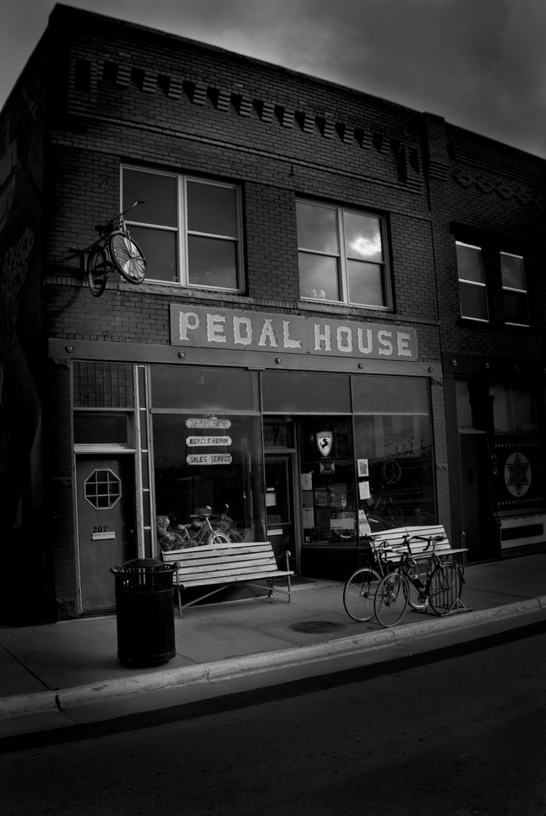 Photograph The Pedal House by David O'Neal Hunter ~ The Indiana Line Photography on 500px