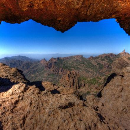 La Ventana del Nublo , la Agujereada.Gran Canaria