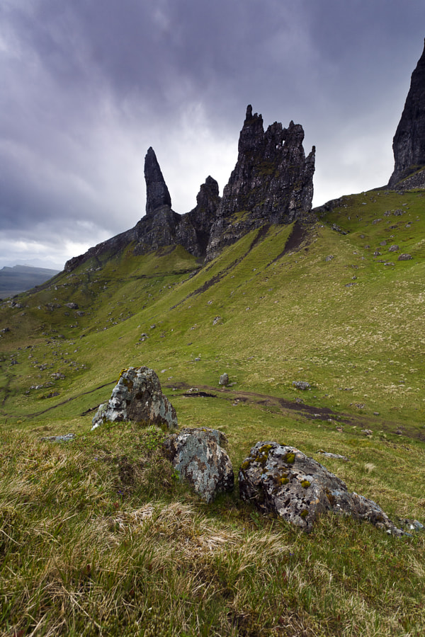 Trotternish ridge The Needle Scotland by Páll Jökull Pétursson on 500px.com
