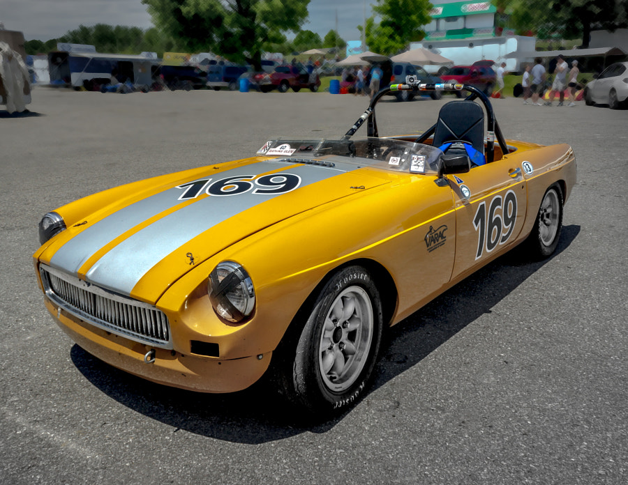 MGB VARAC Vintage Race Car