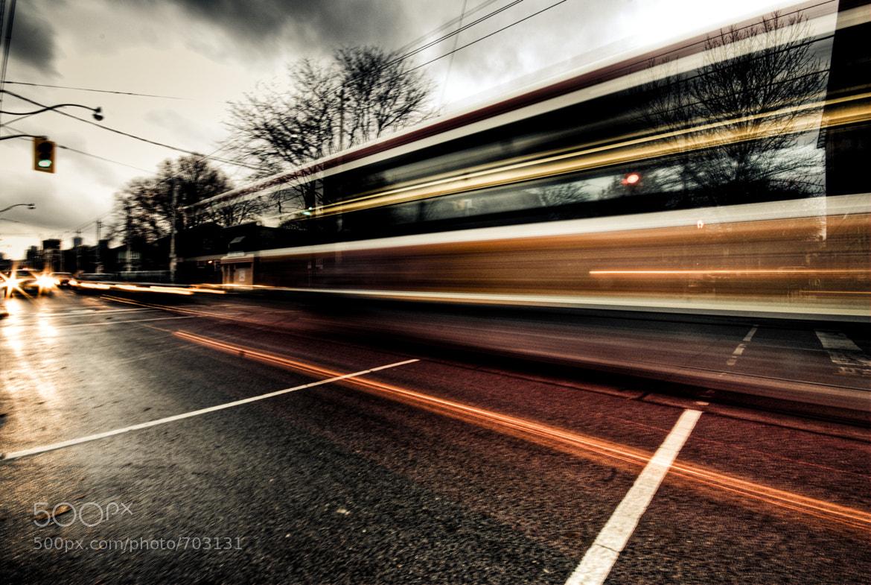 Photograph Streetcar by Rémi Carreiro on 500px