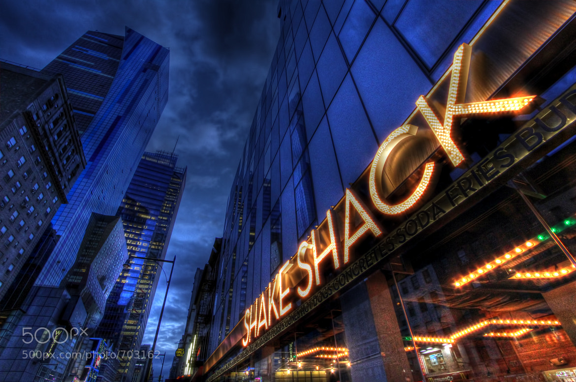 Photograph Shake Shack Shimmy by Omar Sanders on 500px