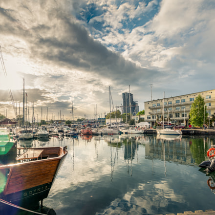 Gdynia basen żeglarski / Gdynia sailing pool