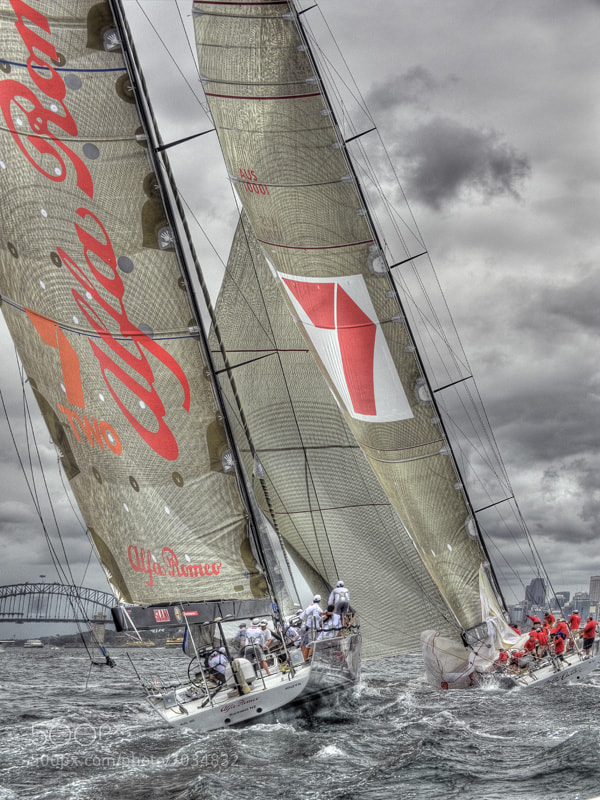 Photograph Solas Big Boat Challenge by Peter Blakeman on 500px
