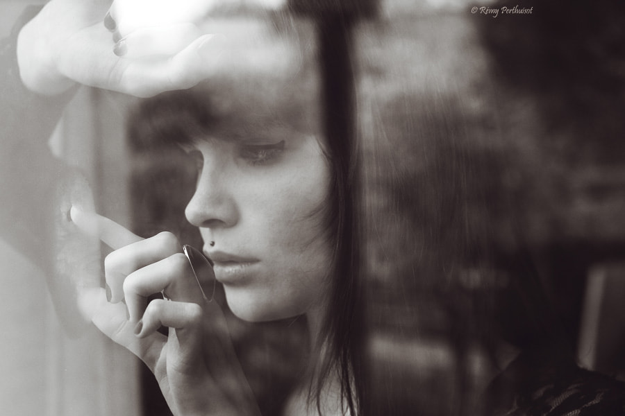 Photograph Anaïs - B&W version. by Remy Perthuisot on 500px