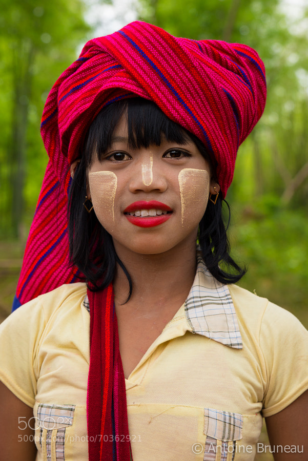 Shan Tribe Girl