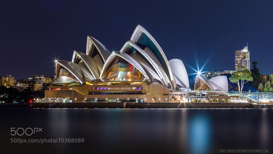 Photograph Silver Blue - Sydney Opera House  by Joshua Gunther on 500px
