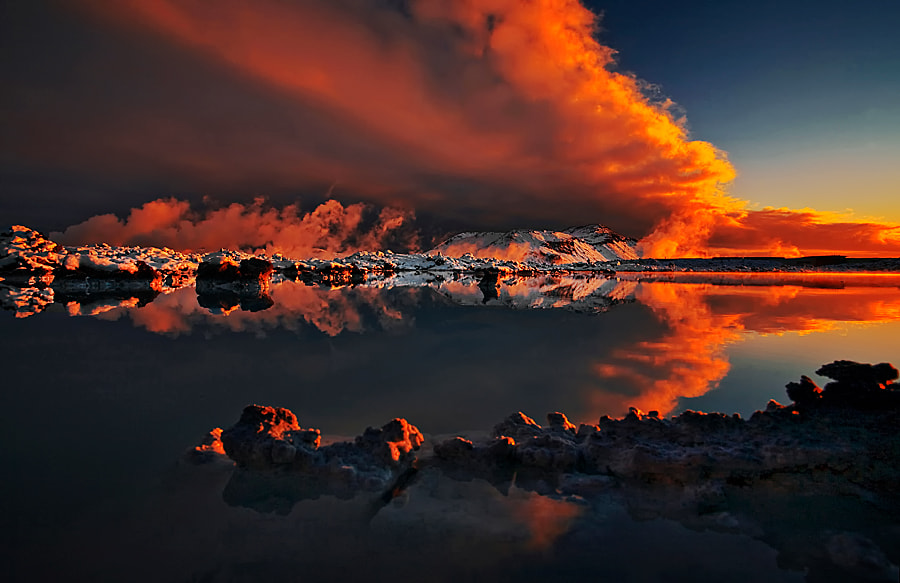 Photograph Fire in the Sky by Þorsteinn H Ingibergsson on 500px