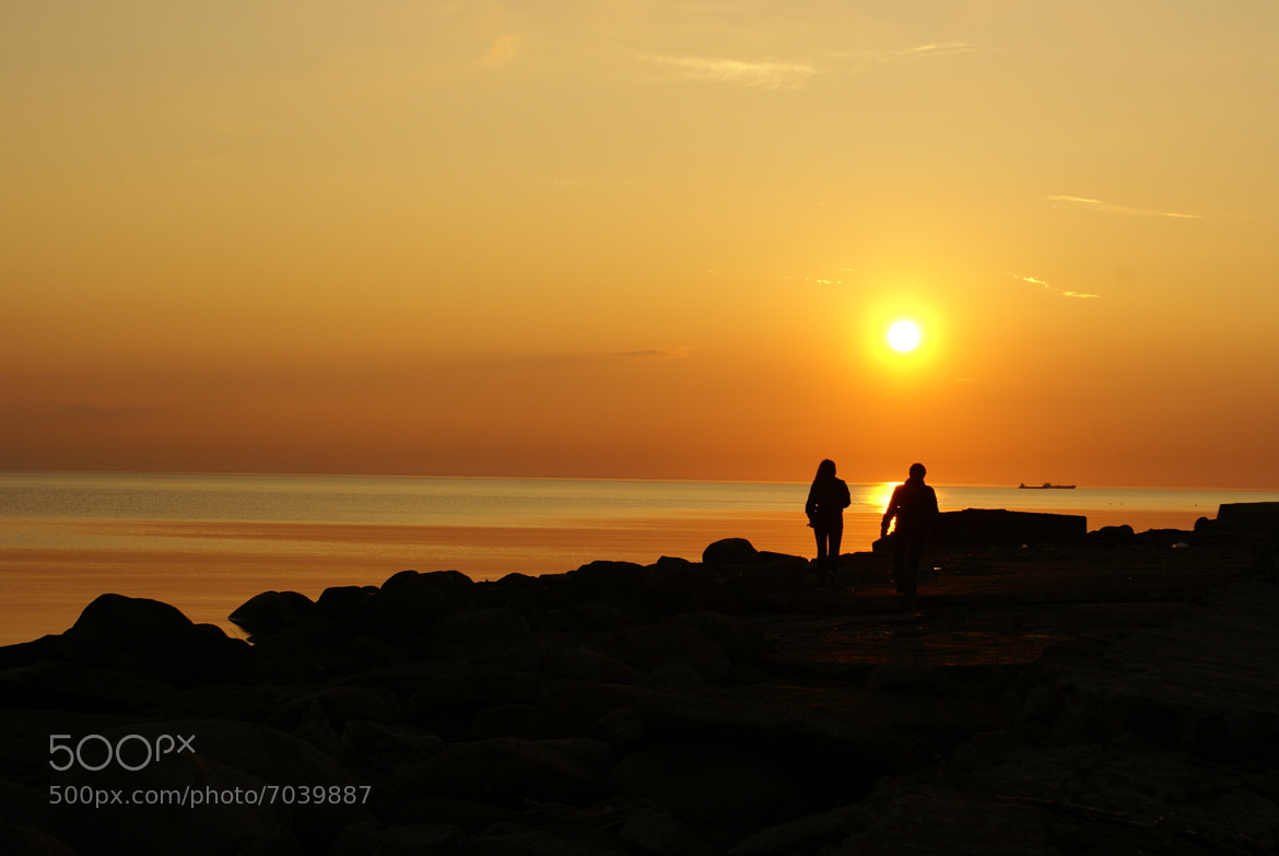 Photograph Two at sunset by Gynt S on 500px