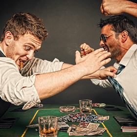 Poker...ending rough! by Björn Fischer (168-Fish)) on 500px.com