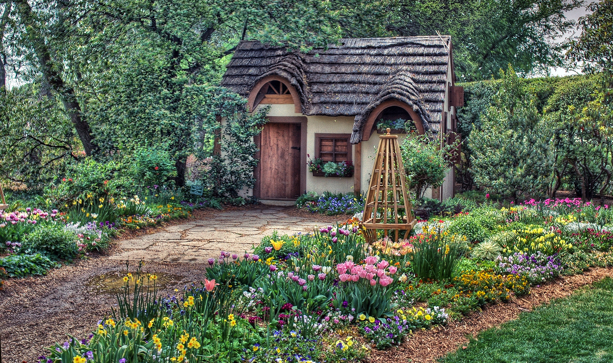 Photograph Magical Cottage by Jeff Clow on 500px
