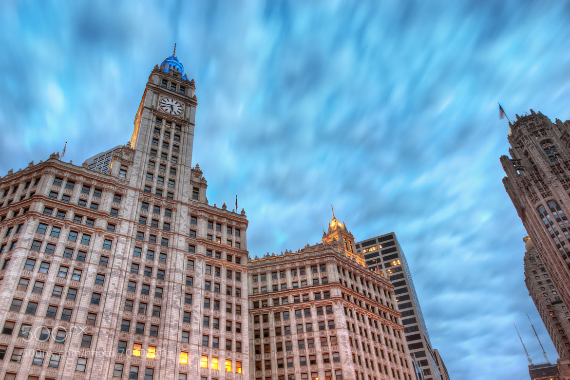 Photograph Wrigley Building by Matty Wolin on 500px