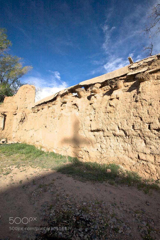 Photograph Wall & Cross Shadow Near San Francisco de Asis, New Mexico by ldandersen on 500px