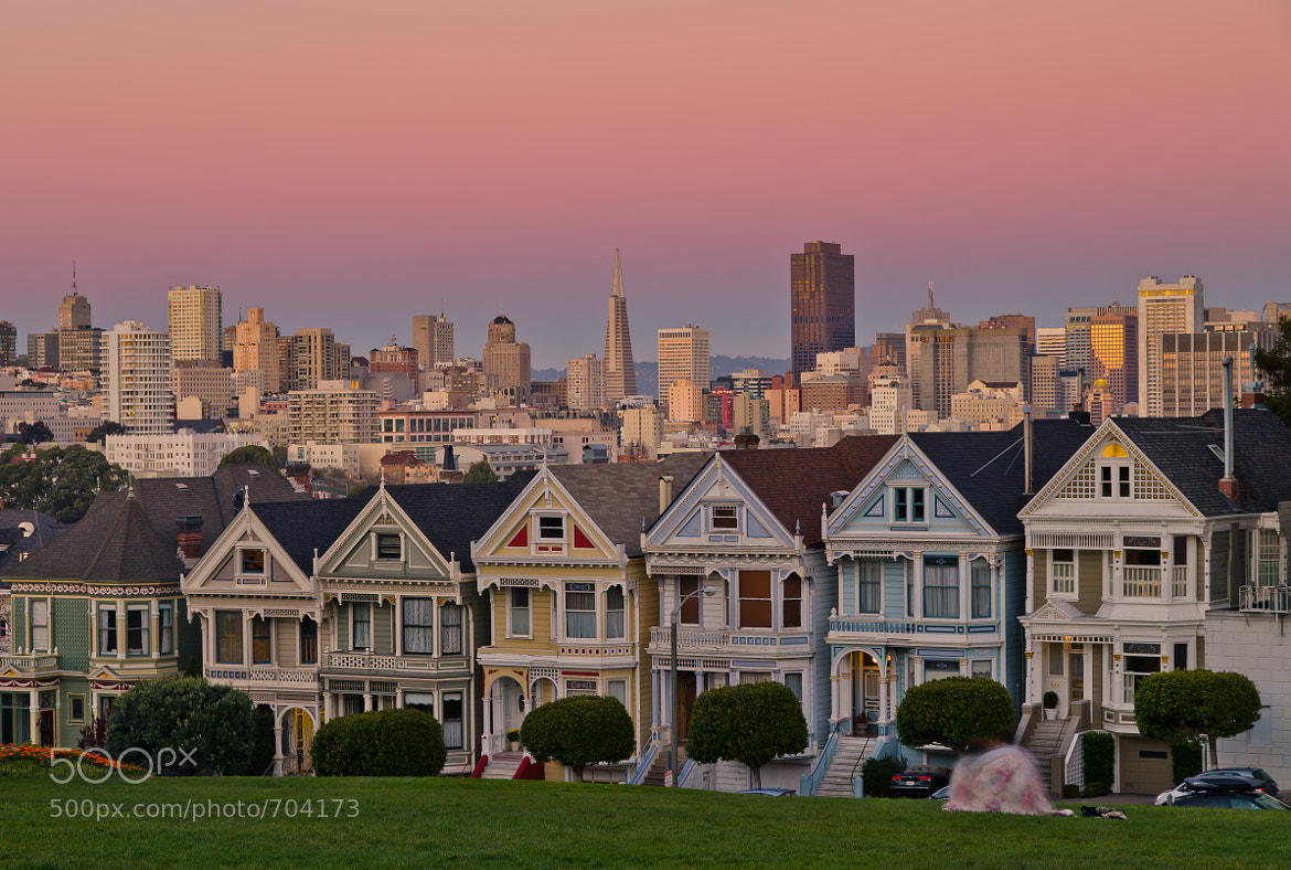 Photograph Alamo Square by Andreas Koeberl on 500px