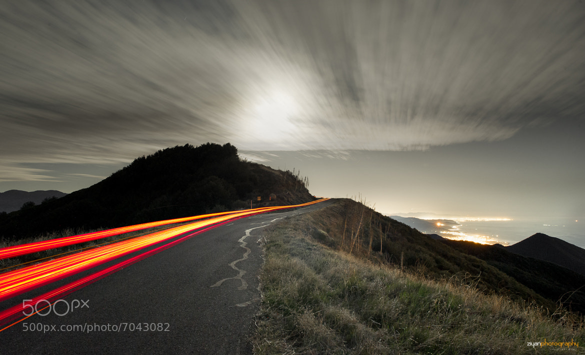 Photograph Camino Cielo Ridge, Santa Barbara by Ziyan Zhang on 500px