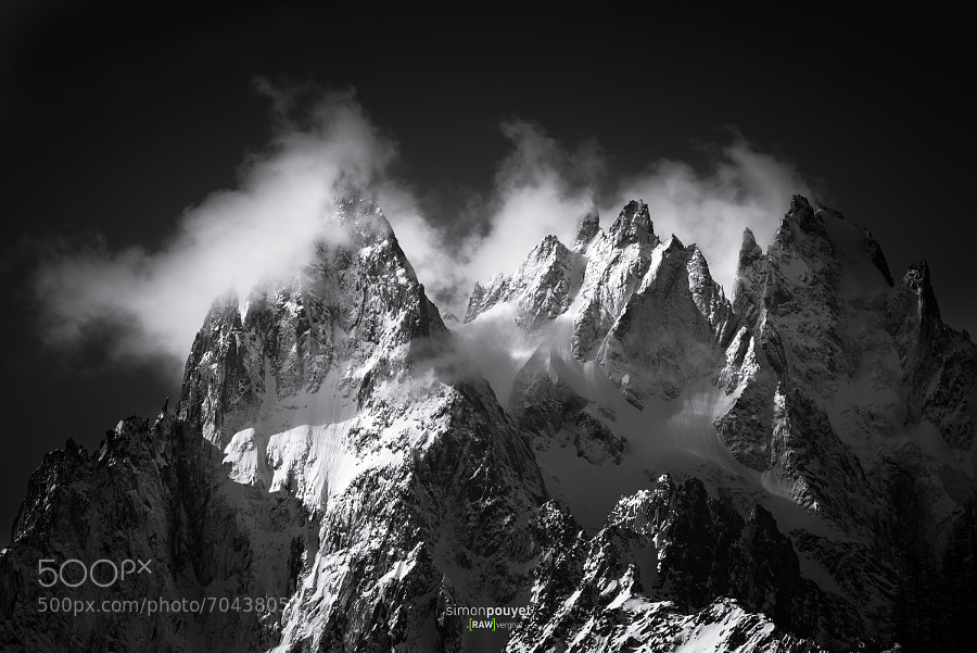 Photograph Darkness Peaks by Simon Pouyet on 500px